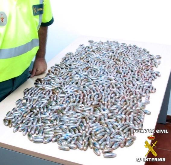 La Guardia Civil detiene a un marroquí con 8 kilos de droga